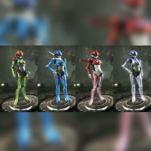 Bubblegum Crisis 2032 Anime Character Pack Beta 2